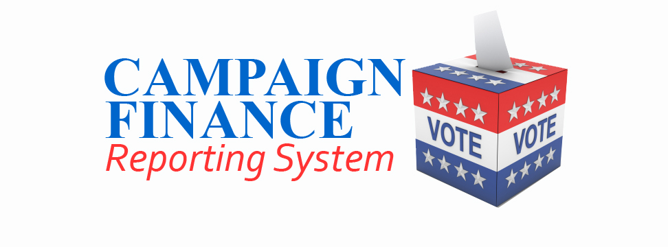Campaign Finance Reporting System